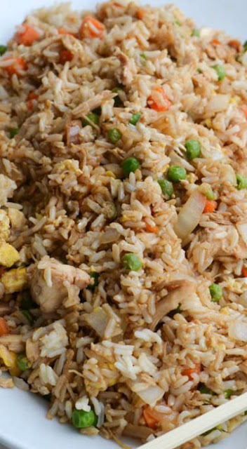 Better-than-takeout chicken fried rice recipe