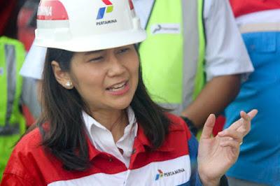 Wakil Presiden Komunikasi Perusahaan Pertamina, Wianda Pusponegoro