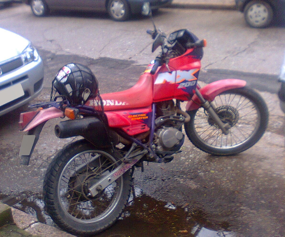 Cripple Rooster A K A Kamikaze Momento Nostalgia Honda Nx 200