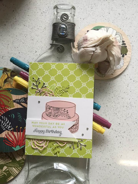 Sweet Cake Framelits zena kennedy independent stampin up demonstrator