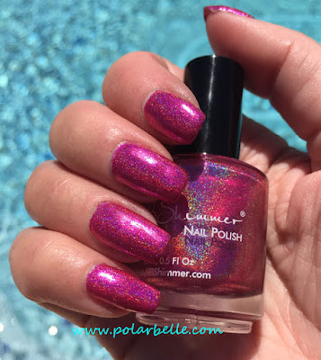 holo, holographic, swatches, hot fire