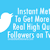 Buy Twitter Followers For $1 [100% Satisfaction Guaranteed]