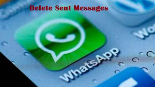 Whatsapp delete sent messages