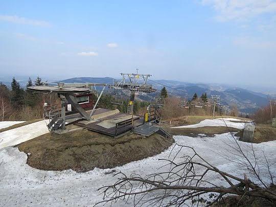 Ośrodek narciarski na Kamionnej.