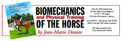 Jean-Marie Denoix Biomechanics and Physical Training of the Horse