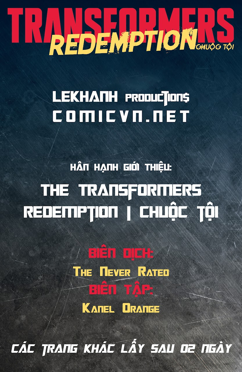 The Transformers: Redemption | Chuộc Tội