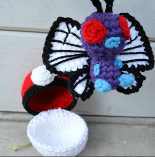 PATRON GRATIS BUTTERFREE | POKEMON AMIGURUMI 39406