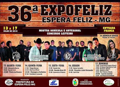 cartaz da 36ª expofeliz 2016
