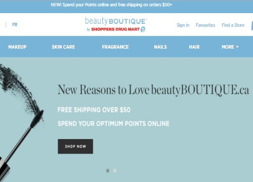 Beauty Boutique Spend Your Optimum Points + Free Shipping