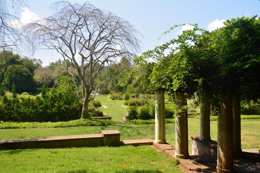 Les jardins de Reynolda Estate