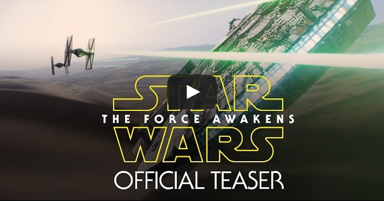 Star Wars Episode VII Trailer