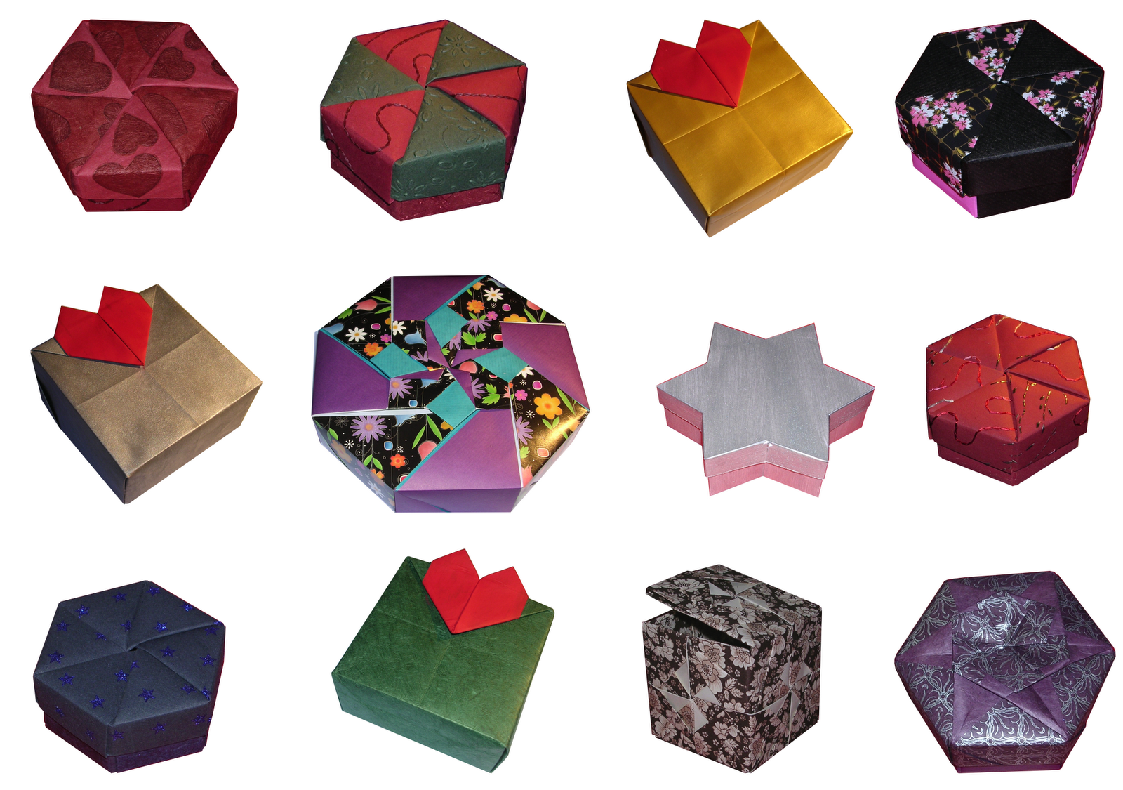 Origami Gift Box Instructions Christmas Origami Videos