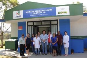 Prefeita Beti Pavin entrega reforma da unidade de Saúde do Bacaetava