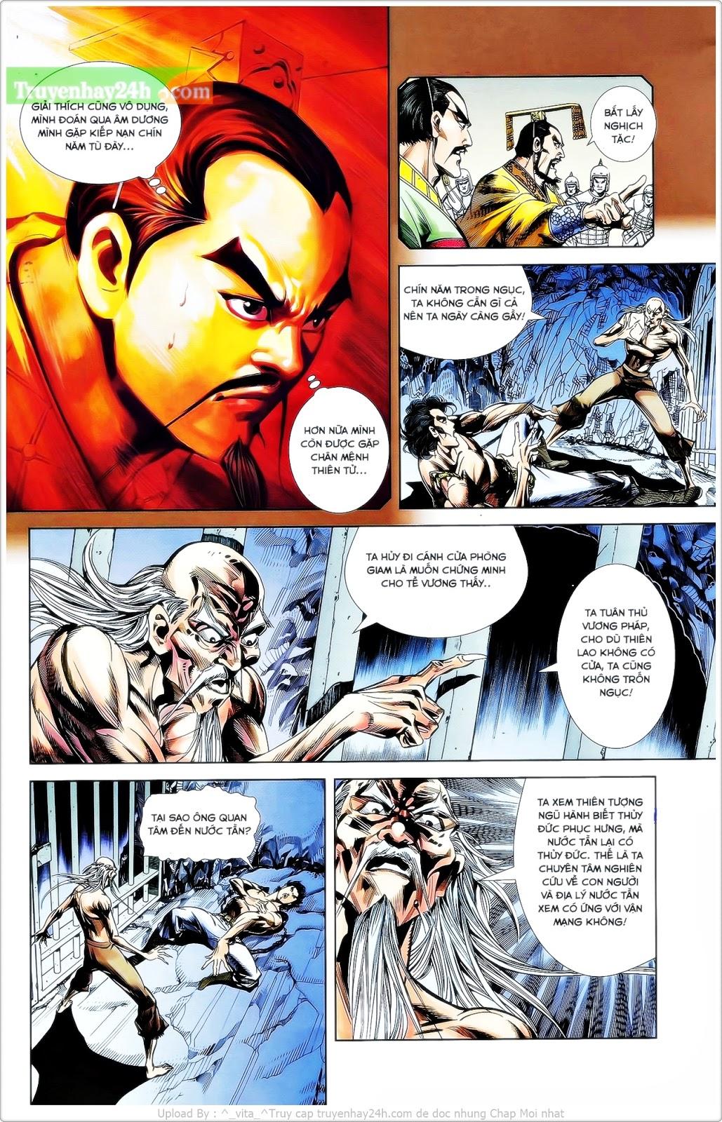 Tần Vương Doanh Chính chapter 25 trang 7