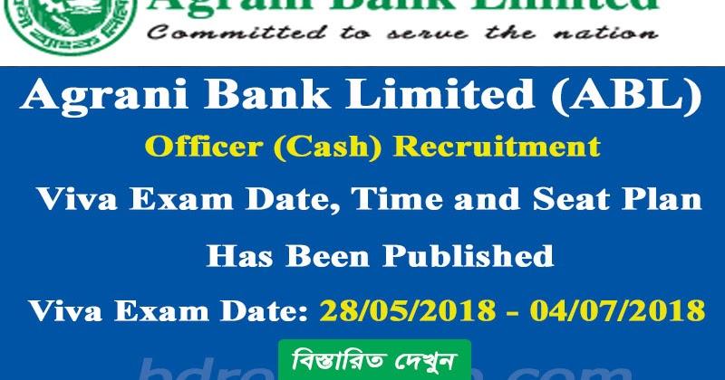 Agrani Bank Limited (ABL) Officer (Cash) Recruitment Viva exam ...