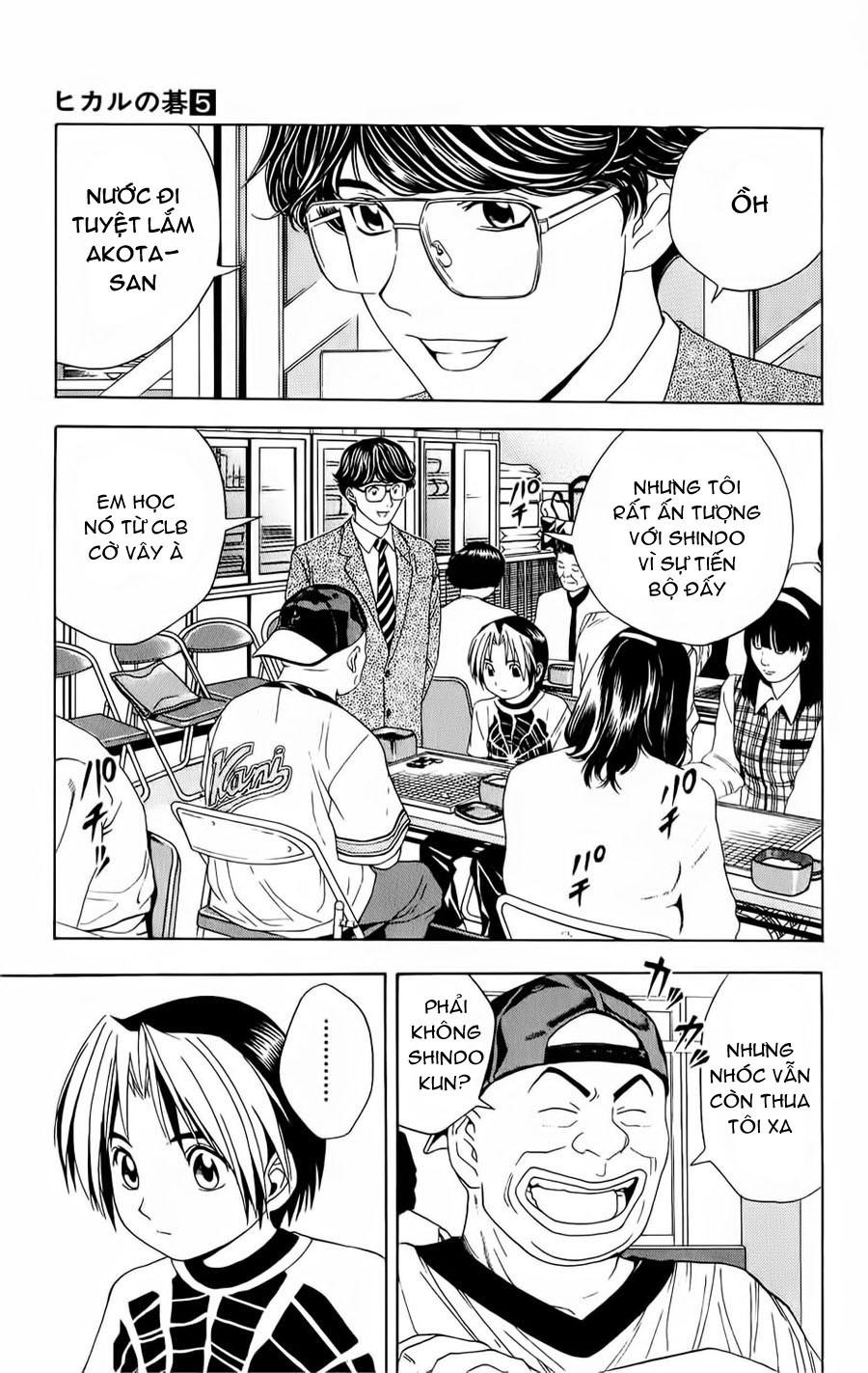 Hikaru No Go hikaru no go chap 39 trang 8