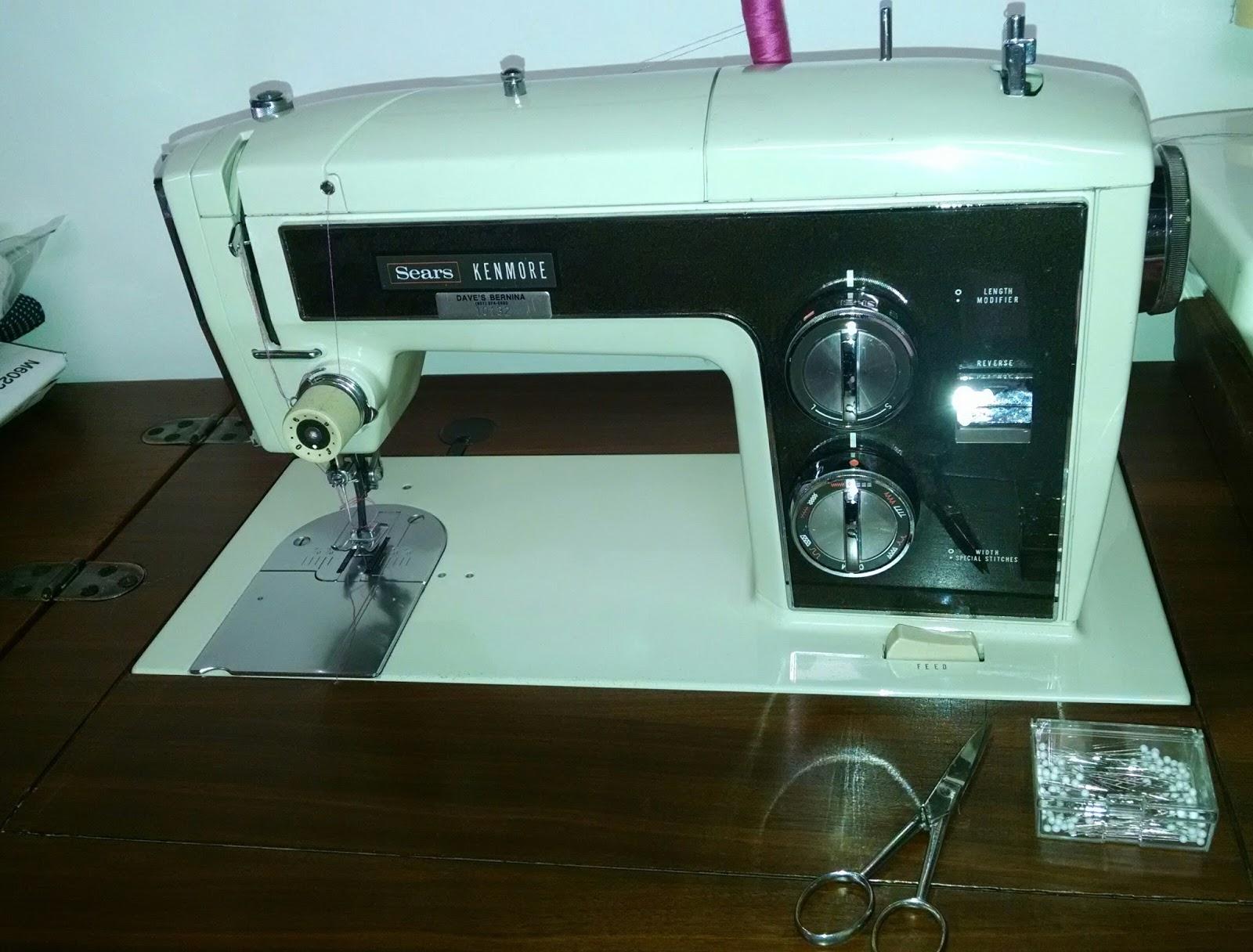 Sewing Machine Mavin April 2016