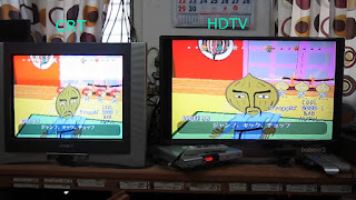 television hd crt