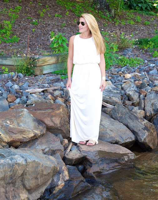 Felicity and CoCo Grecian Jersey Maxi Dress at Nordstrom