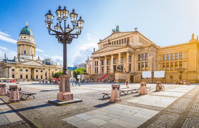 Lua de mel em Berlim