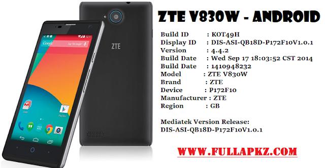 Flash ZTE V830W Menggunakan SP FlashTool Via PC - Mengatasi Bootloop