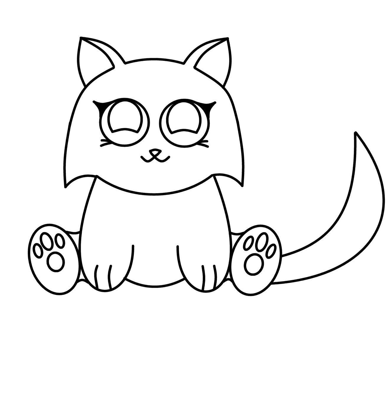 How To Draw Cartoons Anime Cat