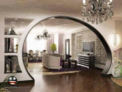 modern pop arch designs ideas for living room interior 2019