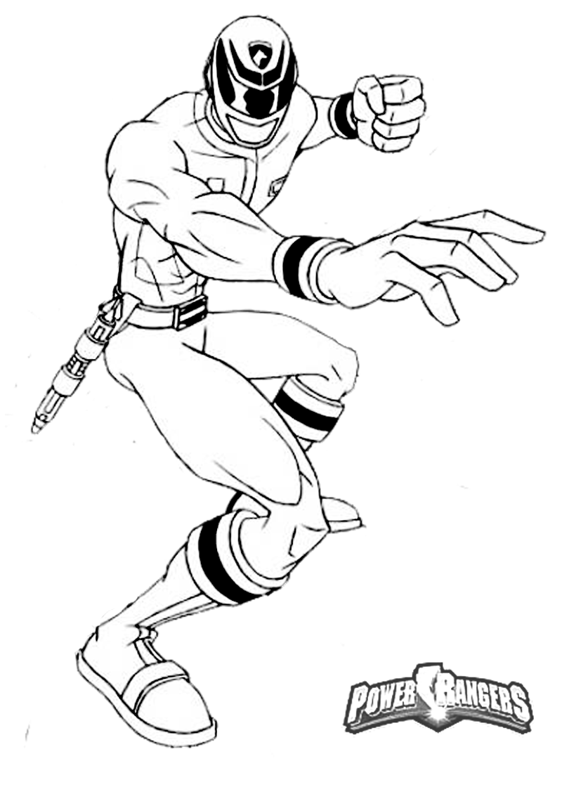 power rangers coloring pages - photo#36