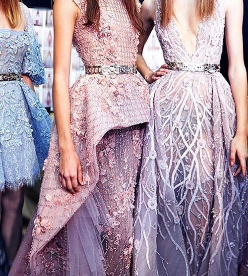 evening gowns in mauve | Images of inspiration in Lavender, Lilac and Mauve