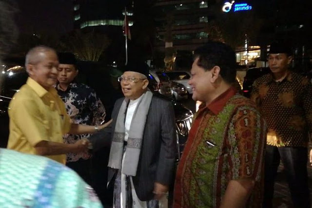 Sambangi Muhammadiyah, Ma'ruf Akui Minta Dukungan di Pilpres