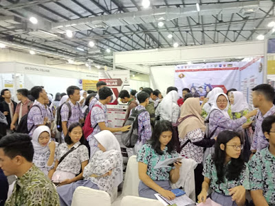 SMAN students 110 Join the DKI Jakarta MGBK Career Day