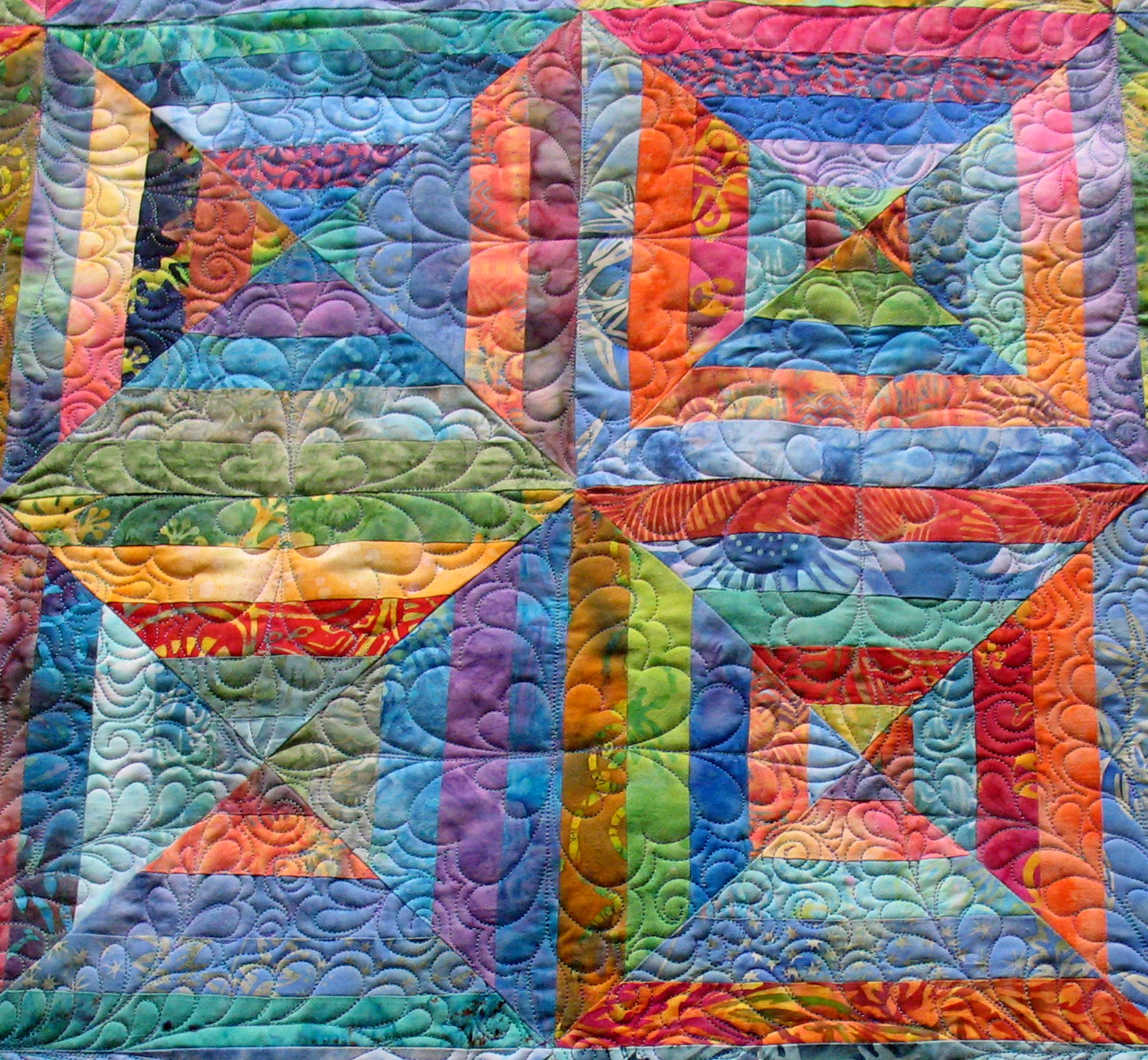 Mary Jo's Cloth Design Blog: Batiks, Quilting And