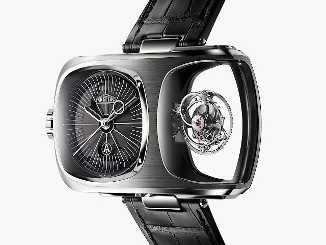 Angelus U10 Tourbillon Lumière mechanical hand-wound watch