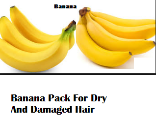 Banana Pack For Dry And Damaged Hair
