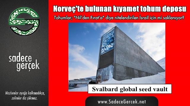 Norveç'te bulunan kıyamet tohum deposu