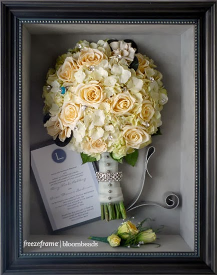 Frame Your Wedding Flowers Wedding Flower Preservation