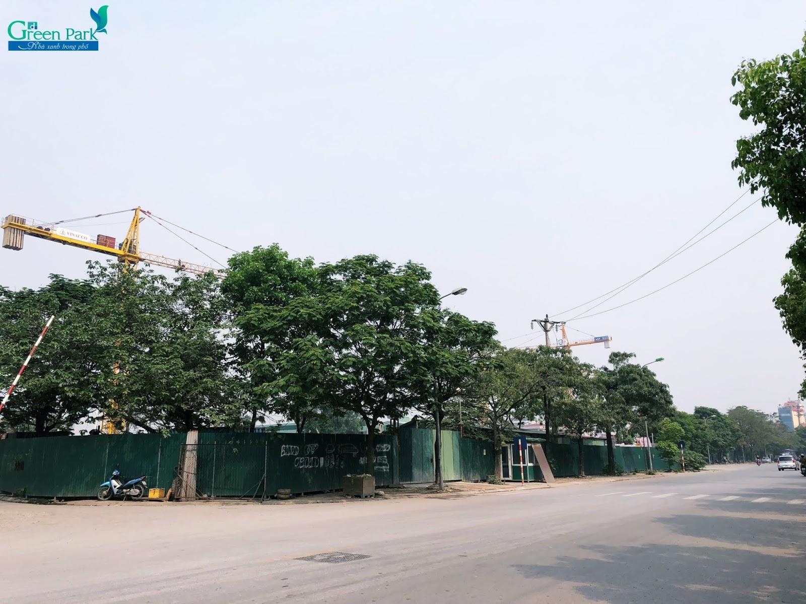 Tiến độ thực tế dự án PD Green Park