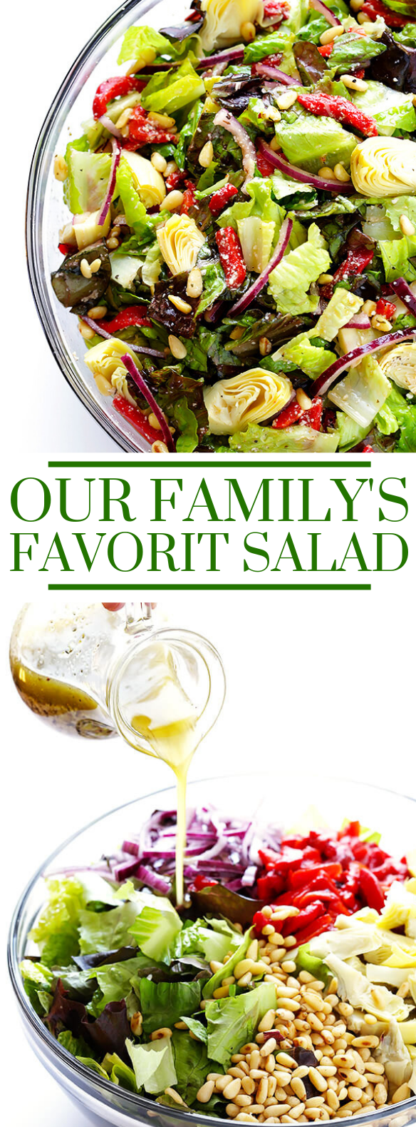 OUR FAMILY'S FAVORITE SALAD #easysalad #vegetarian