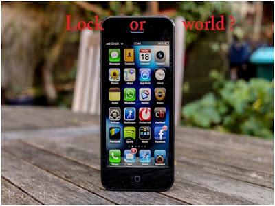 Hướng dẫn phân biệt iphone 5 lock và iphone 5 quốc tế