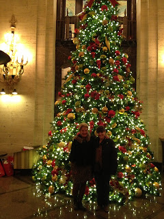 The Palmer House Chicago Christmas Tree - Family Tradition - Parentunplugged - Stacy Snyder