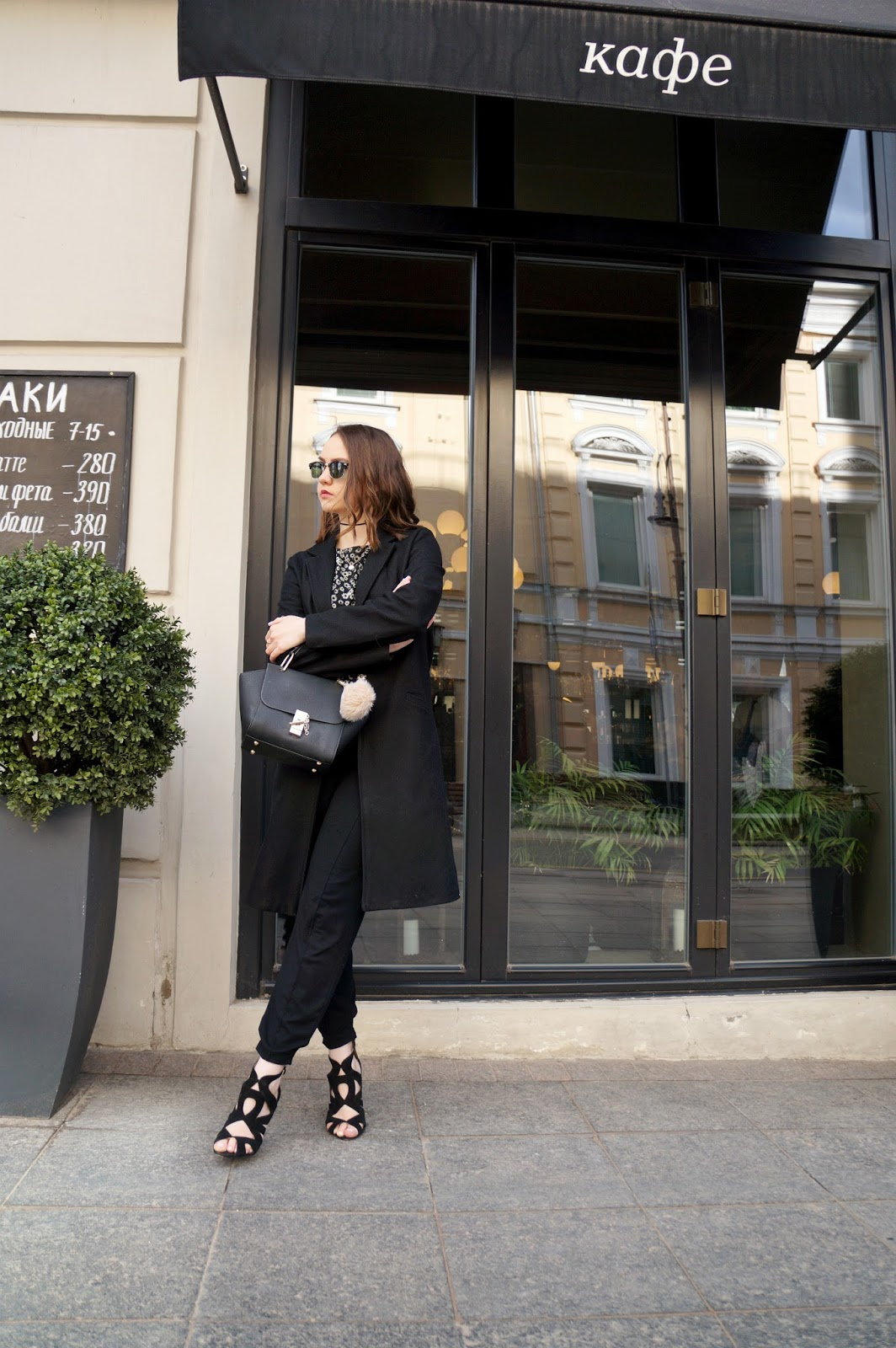 All black outfit | Street Style