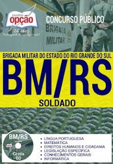 Apostila concurso Brigada Militar do RS - Soldado da Brigada Militar/RS 2017