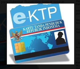 Setelah 30 September, Pembuatan E-KTP Dikenai Sanksi Administrasi