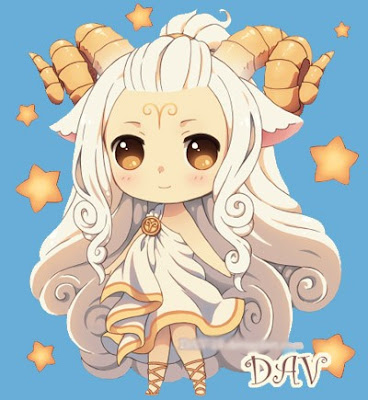 Hình ảnh Chibi 12 cung hoàng đạo cực dễ thương nhất năm