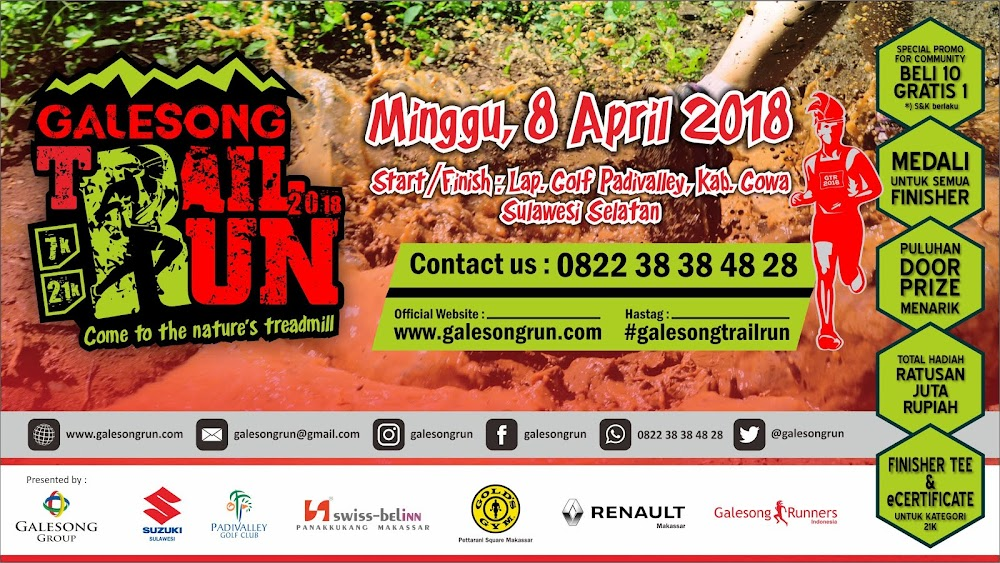 Galesong Trail Run • 2018