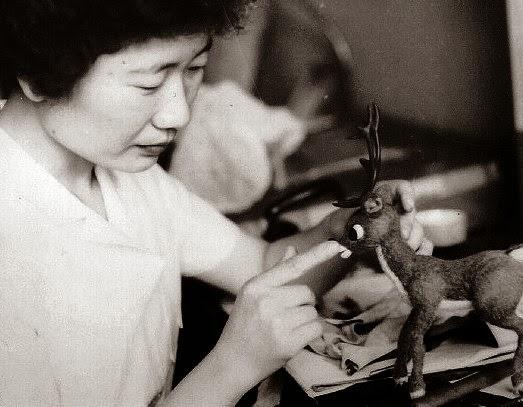 Kyoko Kita Rudolph the Red-Nosed Reindeer 1964 animatedfilmreviews.filminspector.com