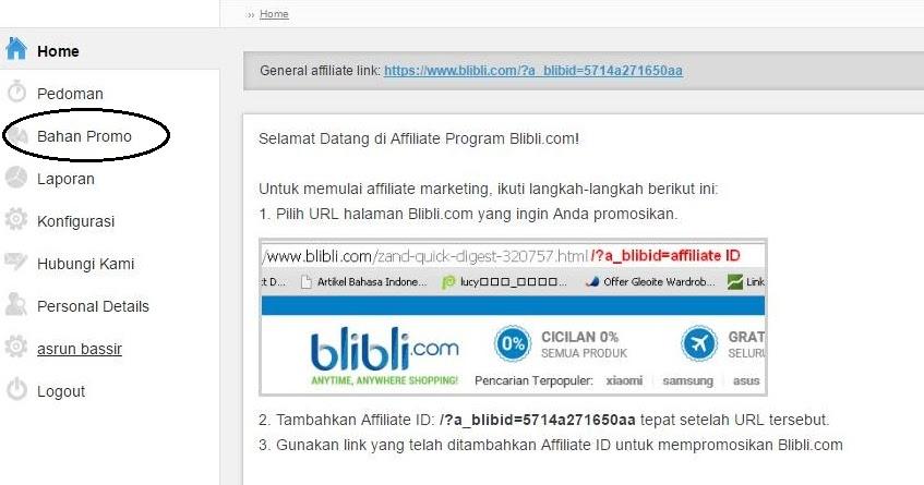 Cara Memasang Banner/Iklan Blibli.com di Blog ~ Bisnis ...