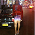 Actress Clarion Chukwurah flaunts hot legs in mini dress