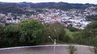Cidade de Serafina Correa, Vista do Morro do Cristo Rei