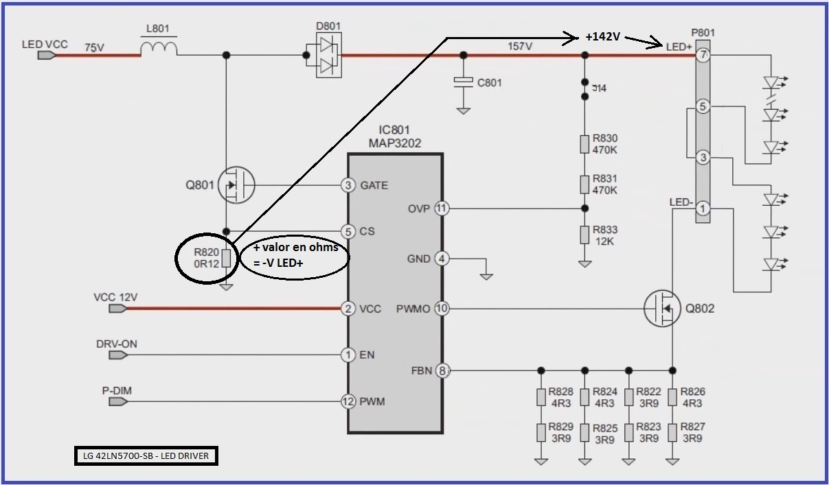 Circuito Led : Electronika: el software para el técnico reparador: lg 42ln5700 se